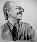 Dad, Greg Medeiros, graphite drawing by Lauryn Medeiros