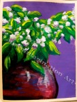 Flower Pot, painting by Lauryn Medeiros