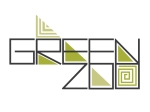 logo design by Lauryn Medeiros, green zoo, green zoo arts collective, triangles