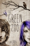 poster design by Lauryn Medeiros, illustration, the green zoo, band, gig poster, indie rock, crow,
