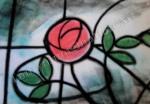 Charles Mackintosh Rose, chalk pastel by Lauryn Medeiros