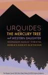 gig poster, design by Lauryn Medeiros, graphic design, band, Urquides, The Mercury Tree, Western Daughter, Boise, music