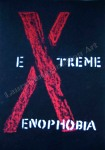 X, Adult Alphabet Book, Glasgow, chalk by Lauryn Medeiros