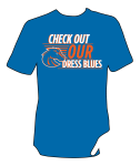 t-shirt design by Lauryn Medeiros, Air Force, Boise State Broncos, Bronco Shop, football, t-shirt