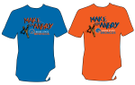 t-shirt design by Lauryn Medeiros, Boise State Broncos, Bronco Shop, football, game day, blue and orange